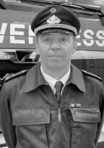 Brandinspektor Thomas Rothhaar seit März 2011