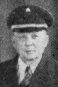 Oberbrandmeister Wilhelm Musebrink Apr. 1935 - 1937
